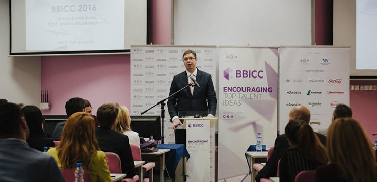 Aleksandar Vucic BBICC 2016