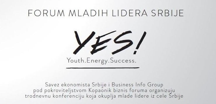 Forum mladih lidera - YES!
