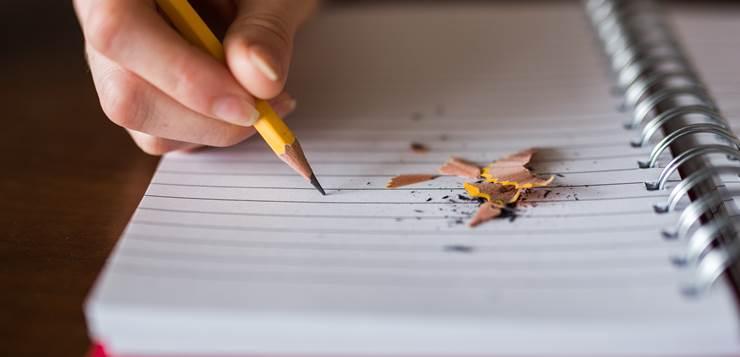 pisanje olovkom