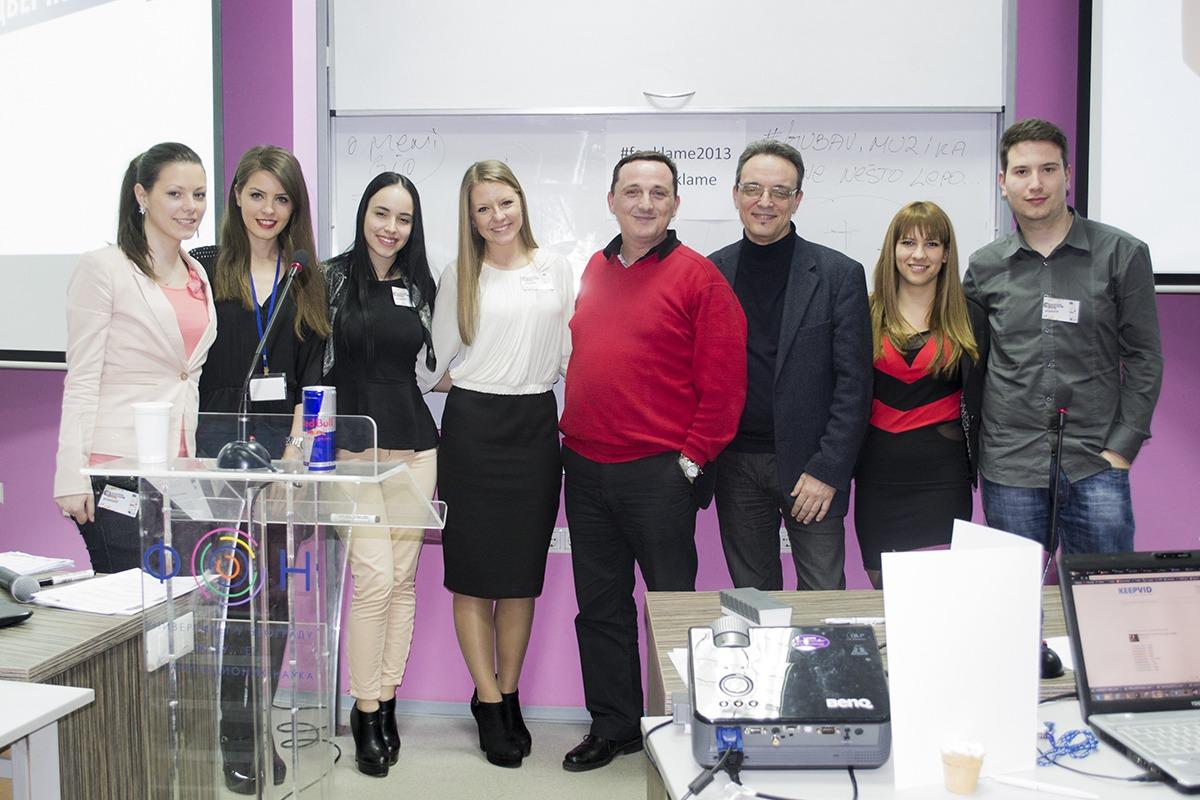 Predavači Vladimir Stanković i Predrag Milićević sa organizatorima