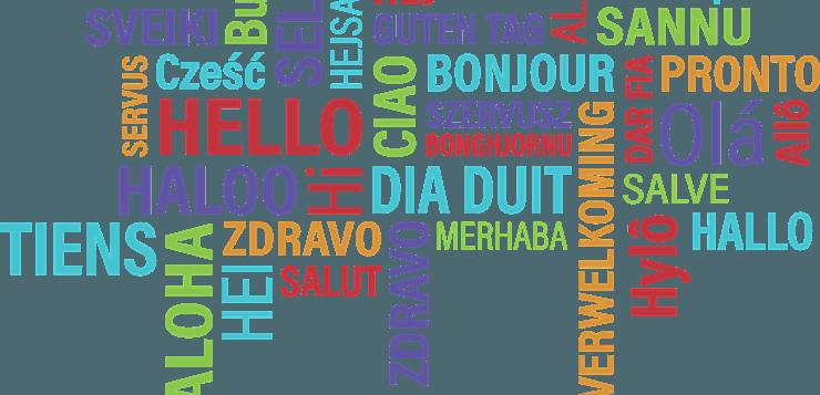 Pozdrav na raznim jezicima