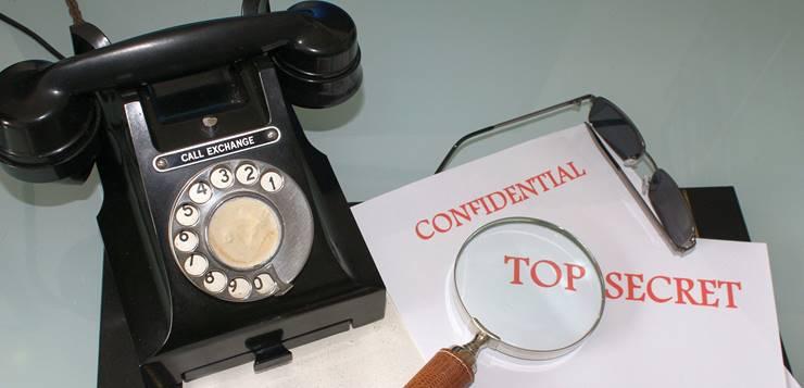 Telefon i poverljiva dokumenta