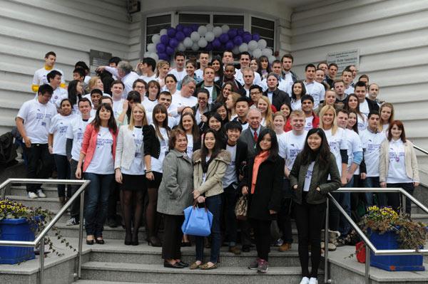 Studenti ispred fona - BBIC