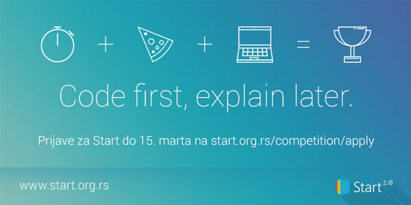 Prijave za Start hackaton