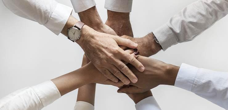 spojene ruke