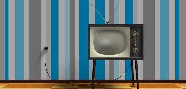 ilustracija starog televizora