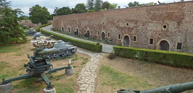 tvrđava Kalemegdan u Beogradu
