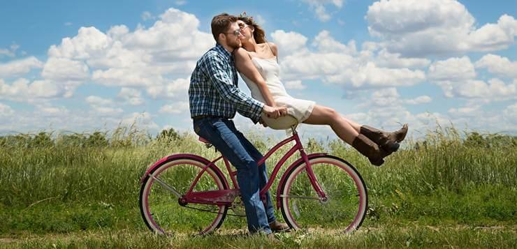 Par na biciklu