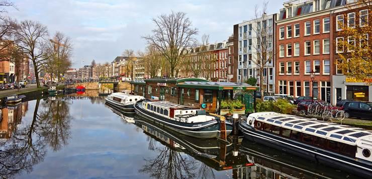kanal u Amsterdamu