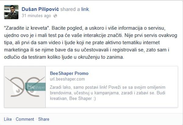 Primer promo fb posta