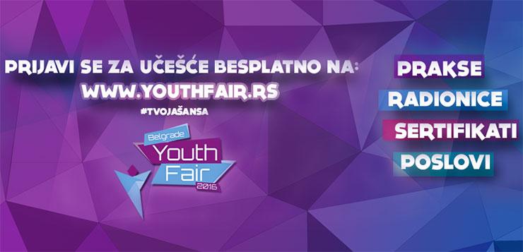 Belgrade Youth Fair 2016