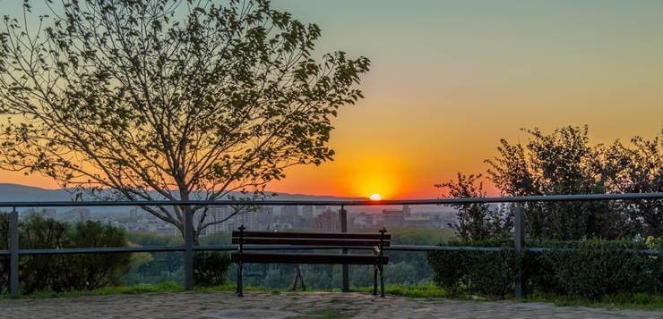 zalazak sunca na Petrovaradinu