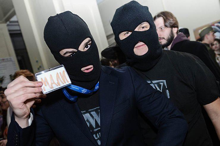 Najzanimljivije maske sa KST maskenbala 2016 - razbojnici - Siniša Mali?