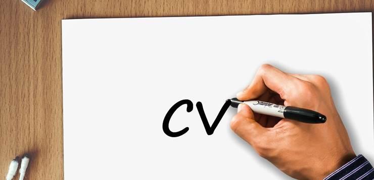 pisanje CV-a