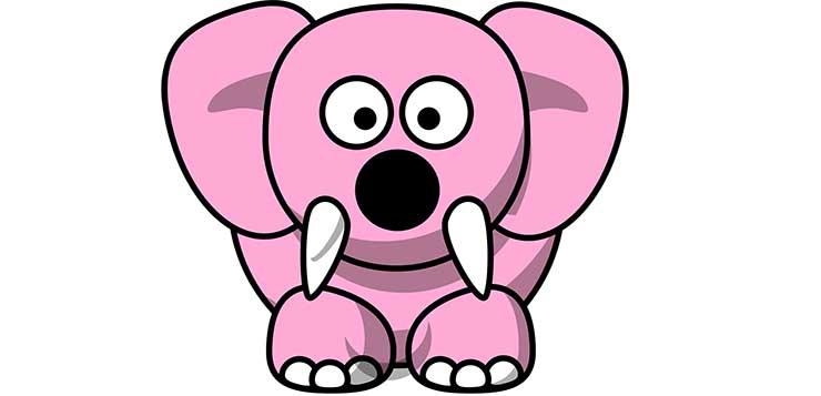 ružičasti slon