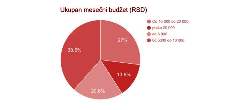 Mesečni budžet studenata - kultura