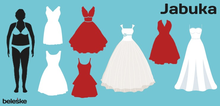 Haljina za jabučastu građu - svečane haljine za punije