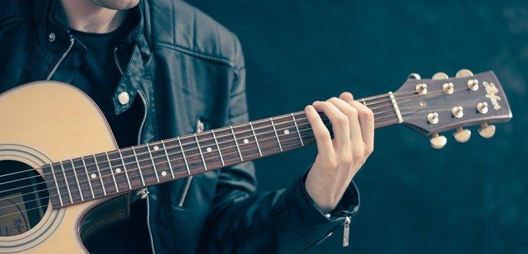 Sviranje gitare akordi
