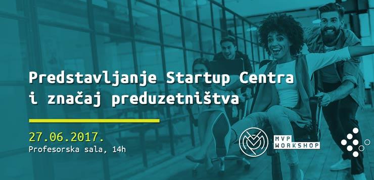 startup centar Ekonomski fakultet