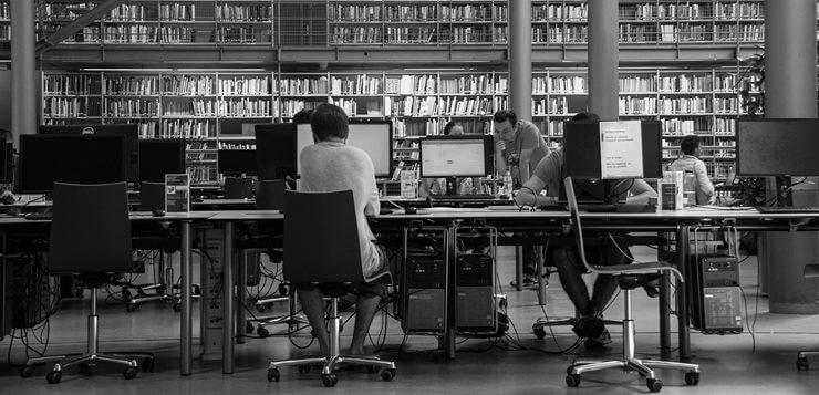 Pisanje seminarskog rada u biblioteci