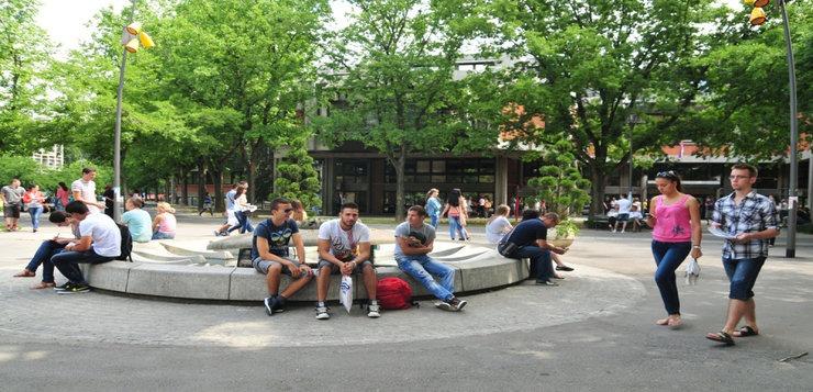 Studenti Novog Sada - kamp Univerziteta u Novom Sadu