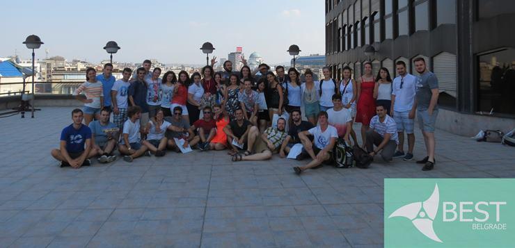 Učesnici stručnog seminara Think LEAN u Beogradu. 2017