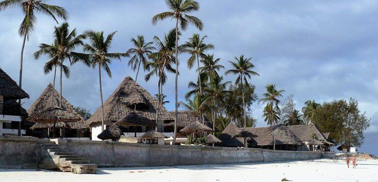 Rajska plaža Zanzibara