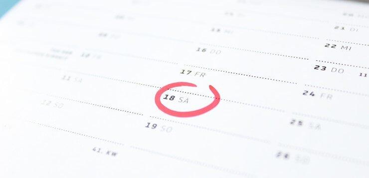 Rok na kalendaru - datum