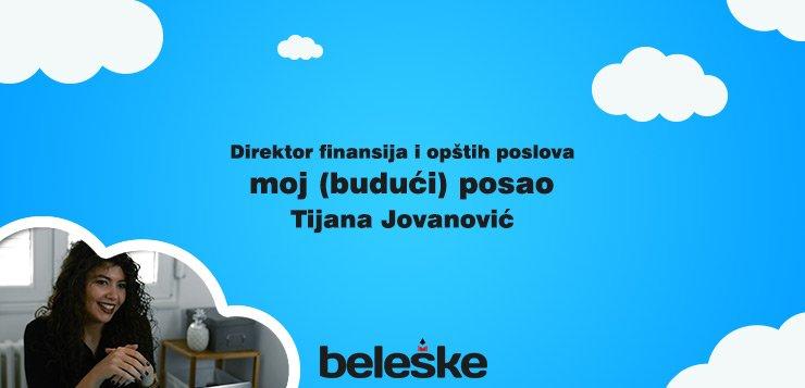 Kako izgleda posao direktor finansija i opštih poslova - Tijana Jovanović - WP Distributin