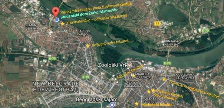 Ustanova Studentski Centar Beograd Smestaj I Ishrana Studenata