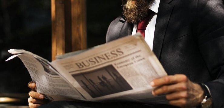 Čitanje novina o biznisu