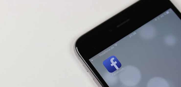 Facebook aplikacija na telefonu