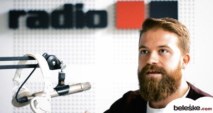 Radijski voditelj Stefan Milošević TDI radio emisija Antidepresiv