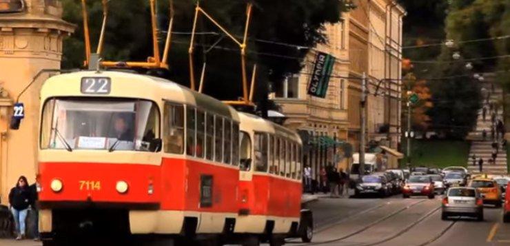 Tramvaj u Pragu