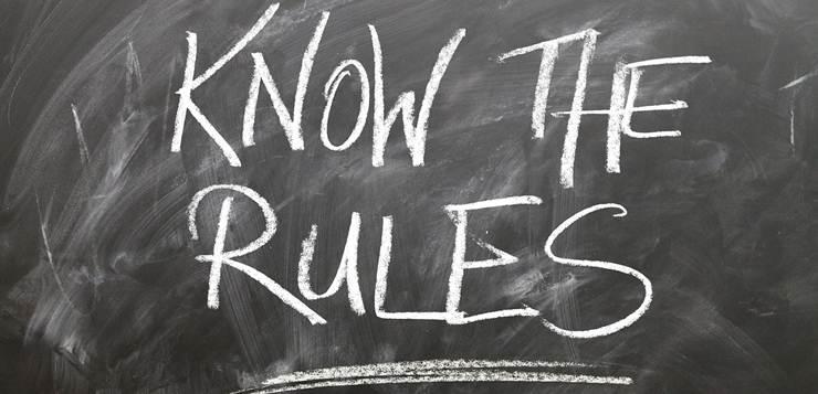 pravila natpis