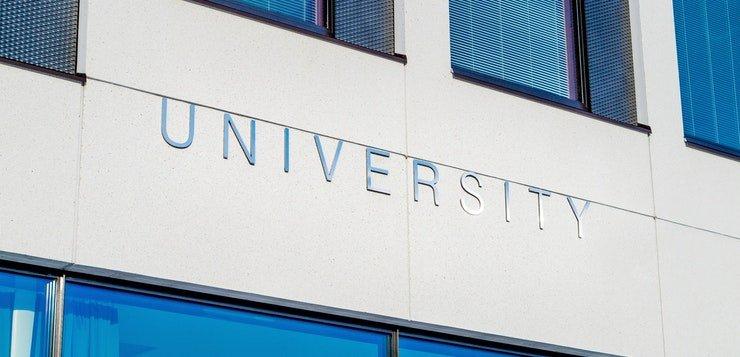 natpis univerziteta