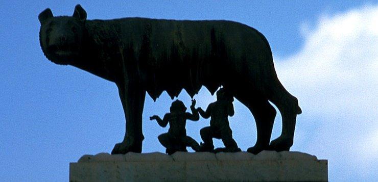 Statua vučice u Rimu