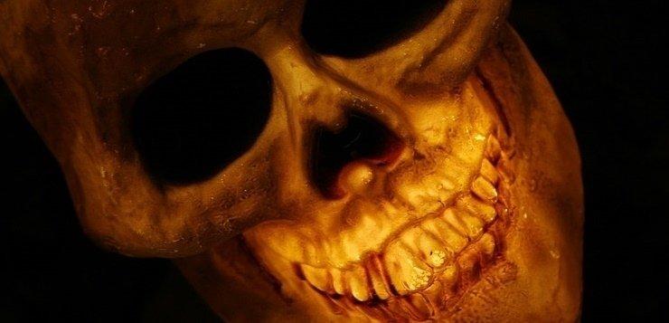 Skelet iz katakomba u Italiji