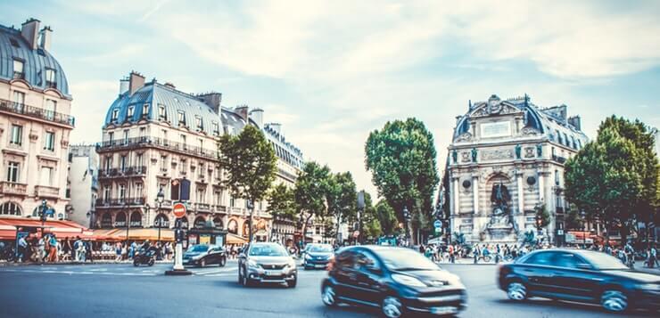 Saobraćaj u Parizu