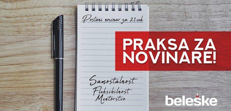 Praksa za novinare na Beleške sajtu