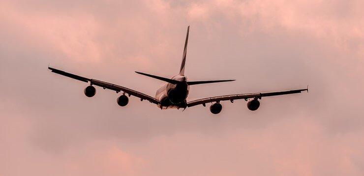 Avion u vazduhu