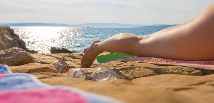 Sunčanje na plaži