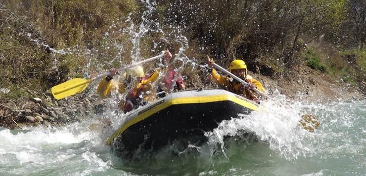 rafting na reci