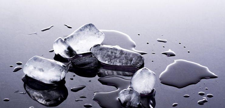 Kockice leda se tope