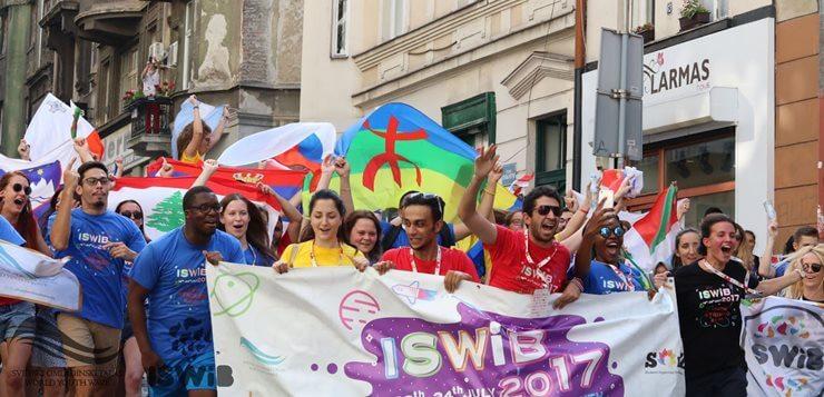 Defile stranih i naših studenata ISWIB 2018