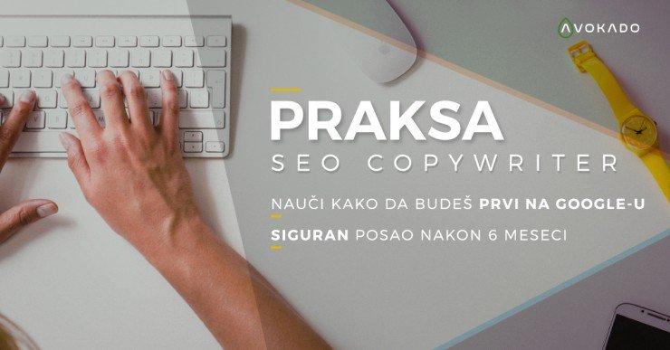 Praksa SEO copywriter - Content creator