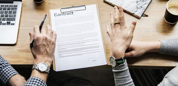 sklapanje ugovora