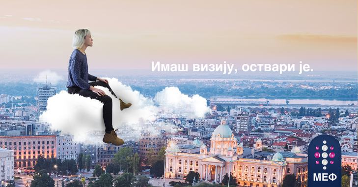 Prelazak na MEF, devojka na oblaku