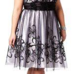 Kratka haljina za maturu za jabuka tip tela
