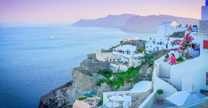 Gradić na obali mora, Grčka